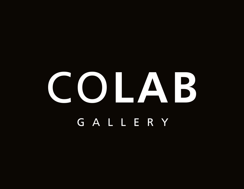 Colab Gallery Logo on black background
